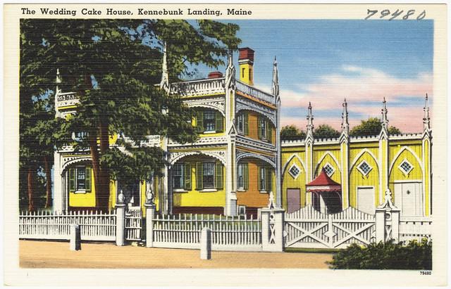 The Wedding Cake House Kennebunk Landing Maine File Name Flickr