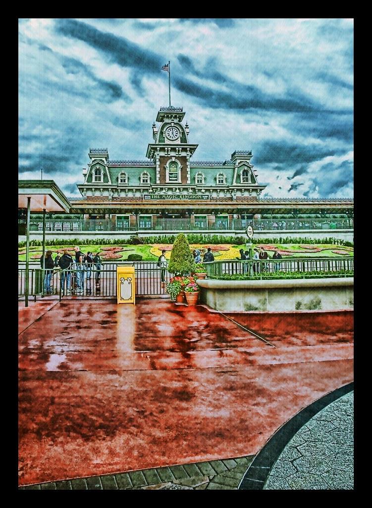 Black Magic Camera >> Disney - Magic Kingdom Entrance LucisArt On Black | This is … | Flickr