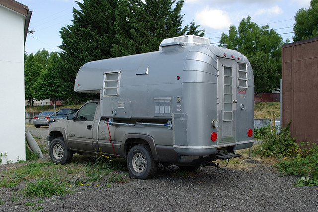 Pickup Camper Like Airstream I Thought This Was Kind Of