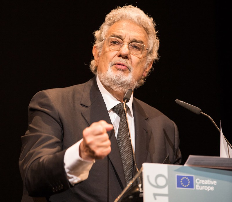 Plácido Domingo at the European Heritage Awards Ceremony 2016, Madrid