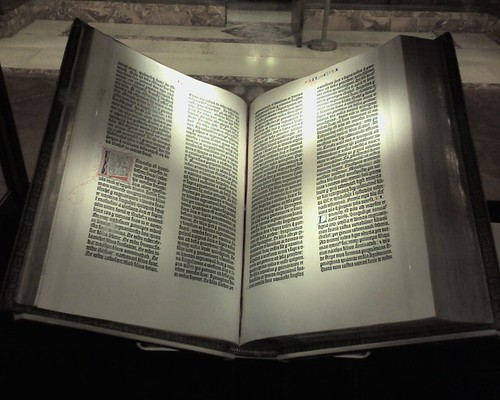 NYPL - Gutenberg bible | by jblyberg