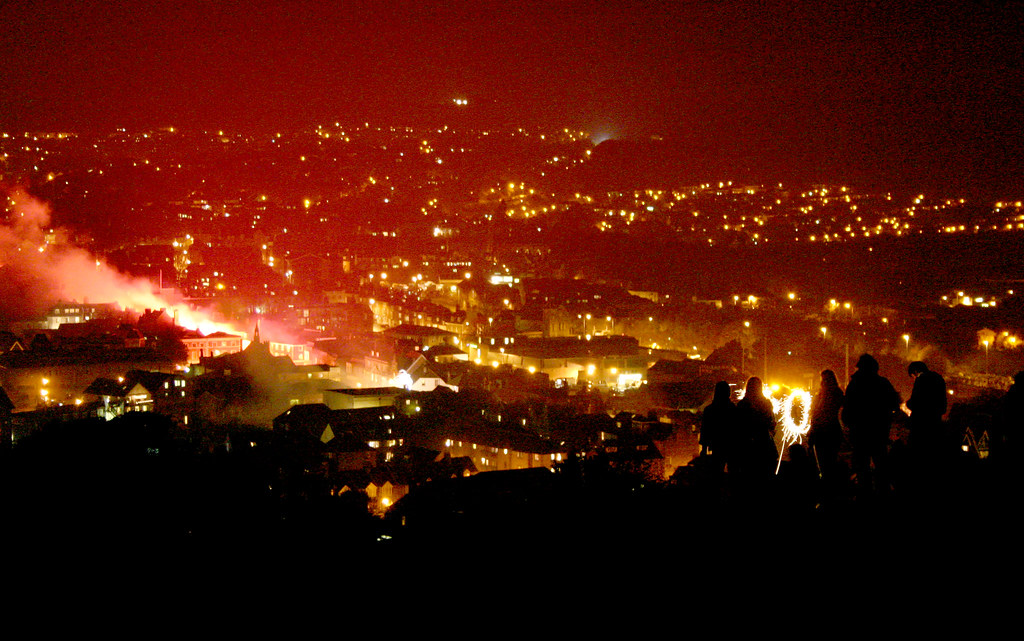 lewes bonfire night 2007
