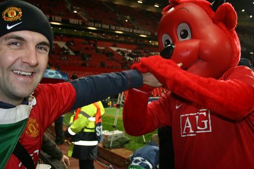 Man Utd Red Cafe Post Match