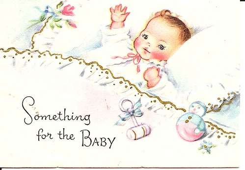 Vintage Baby Card Maize Hutton Flickr
