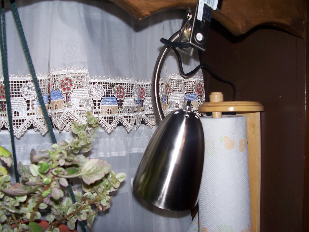 Over Kitchen Sink Lighting Long Neck Wall Mount