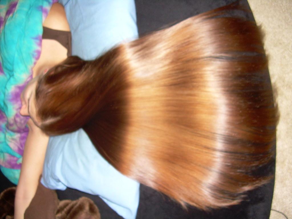 Как в домашних условиях сделать блестящими волосы
