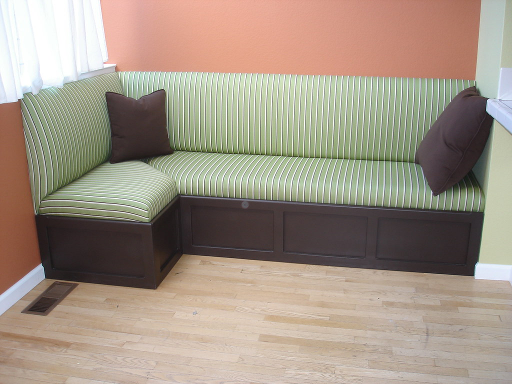 4 L Shaped Banquette Michael S Upholstery Flickr