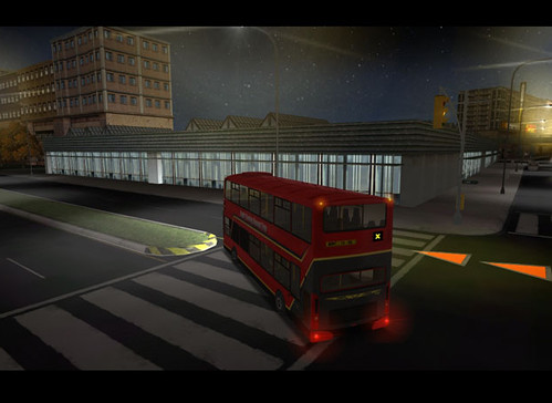 Bus Driver Game Screen Grab From My London Underground