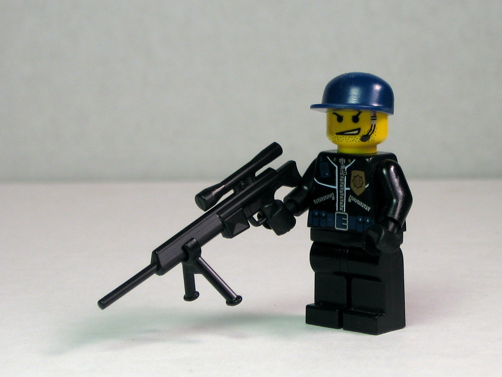 Swat Sniper Swat Sniper With Psg1 Rifle And Bipod Flickr