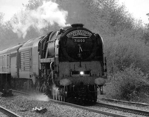 71000 Duke of Gloucester in South Wales | by peter.brabham