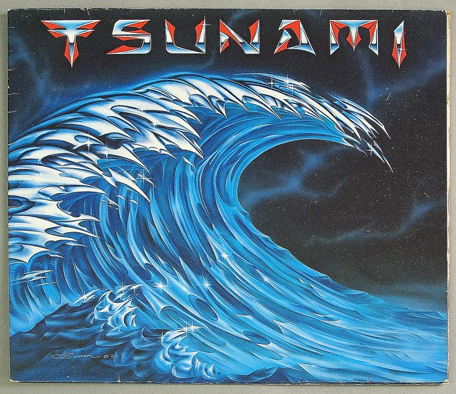 "TSUNAMI S/T Self-Titled 12"" LP VINYL"