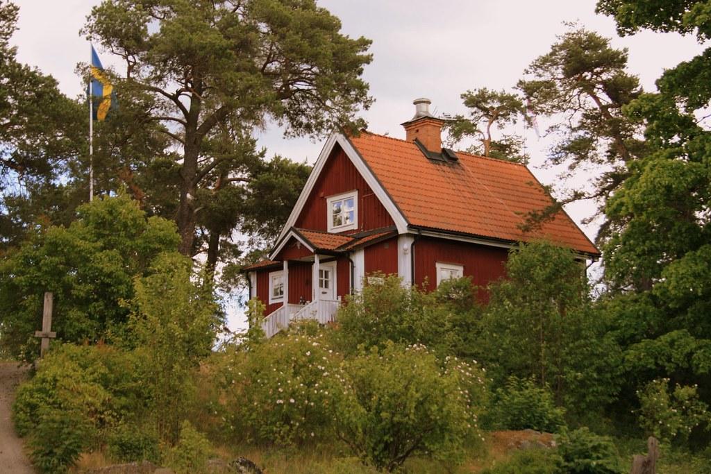 Schattig Zweeds Huisje : Zweeds huisje ritchie