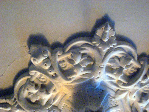 ceiling plaster | In Mikell's sitting room, Waverley ...