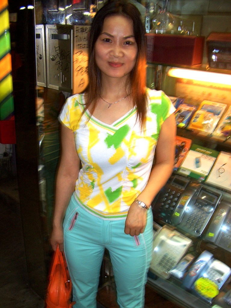 Woman in Hong Kong