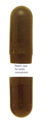I Spy Pictures >> Rectal Concealment capsule | A plastic model of the type use… | Flickr