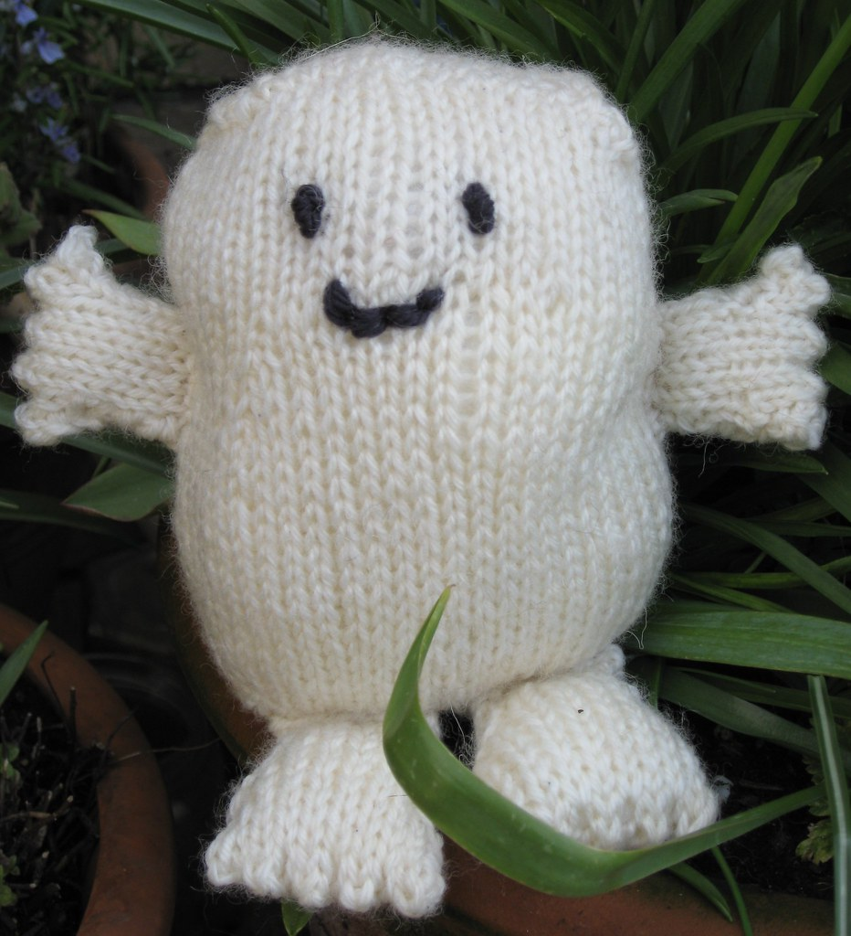 Free Knitting Patterns For Toys And Dolls : knitted Adipose baby pattern by Mazz www.mazzmatazz.co.uk/? Flickr