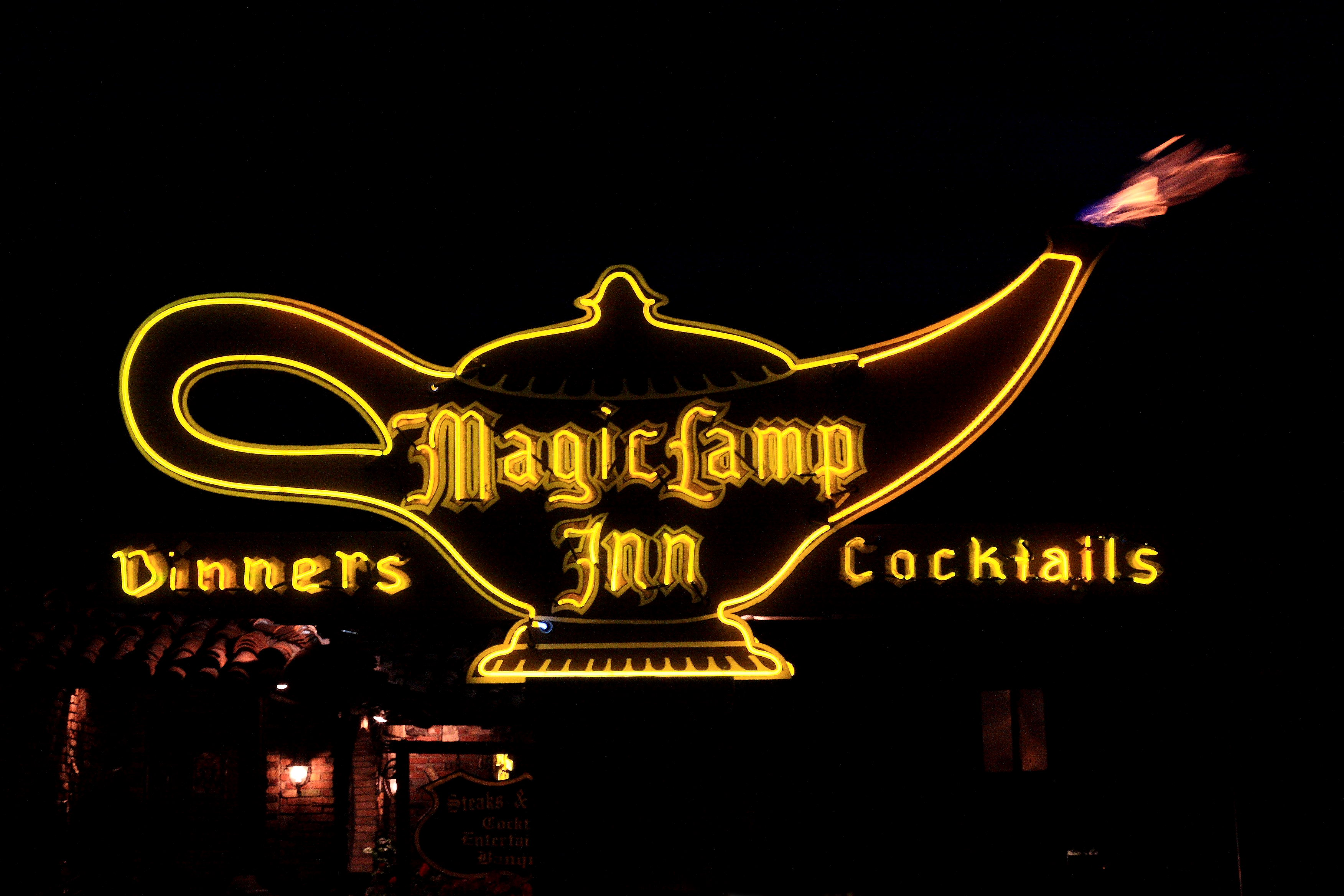 Magic Lamp Inn - 8189 Foothill Boulevard, Rancho Cucamonga, California U.S.A. - April 23, 2008