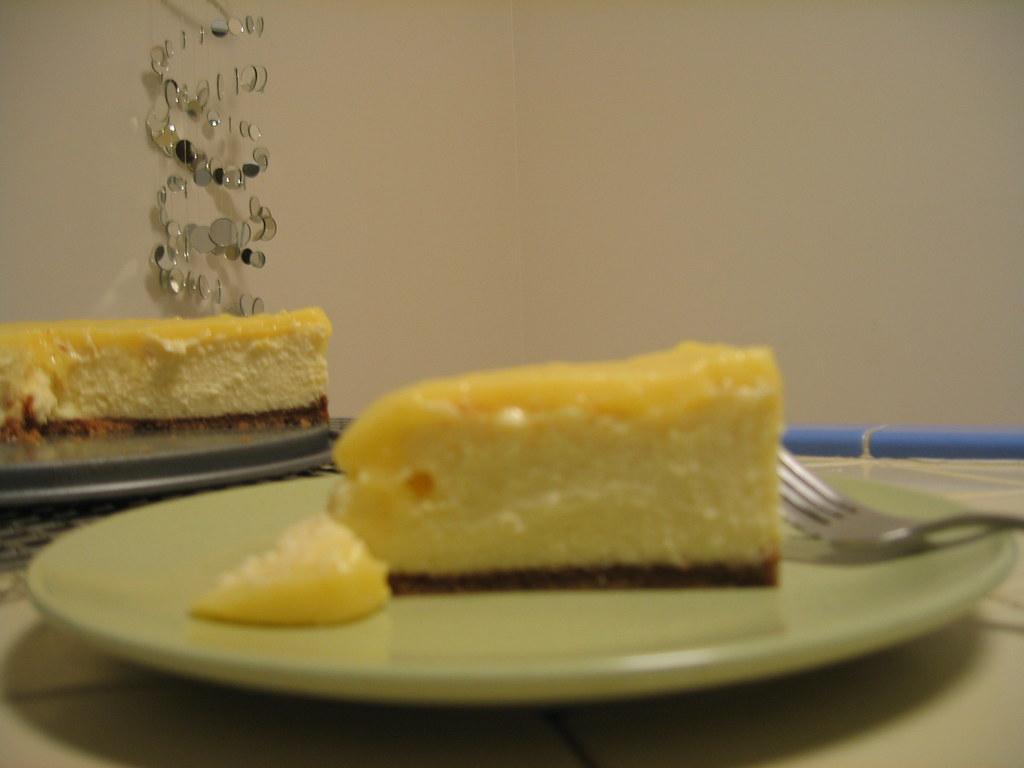 Lemon Curd And Blueberry Cake