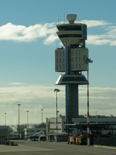 NYC0710 233 Milan Malpensa airport - Control tower | by watz