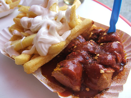 Currywurst mit Pommes | by WordRidden