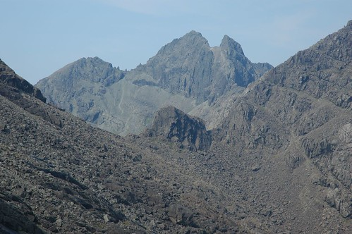 Sgurr Alisdar and Caisteal a'Garbh-choire (foreground) | by Paul Sammonds