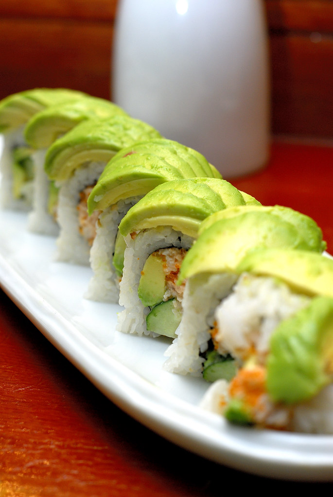 California Roll - Ray Special | California Roll with extra a ...