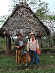 DSC02890 Gregoria and Lilian preparing one of their health surveys in Okawas | by Hobobiker