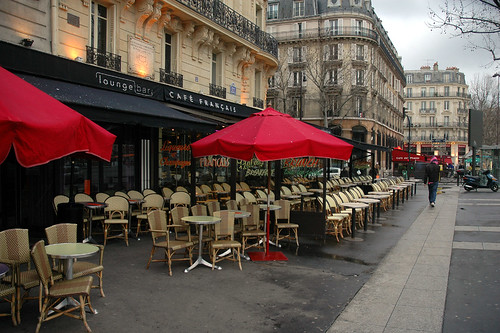 French Café | Traditional in style.. lots of outward facing ...