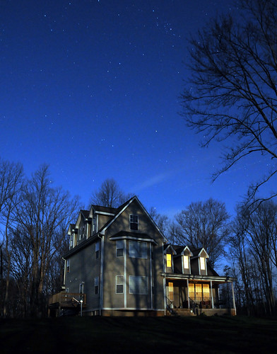 My House in Moonlight | by Kris Grimes