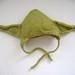 Felted Yoda hat