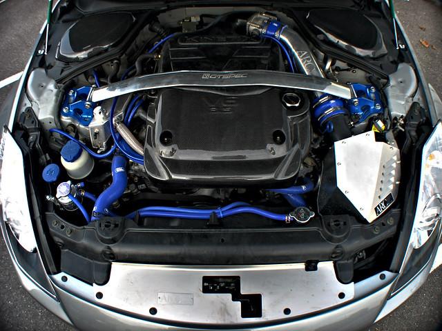 JDM Nissan 350Z / FairladyZ - Nismo bodykit & Volk wheels ...