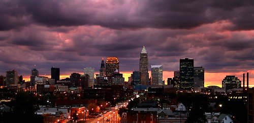 Cleveland October Sky | by cabate