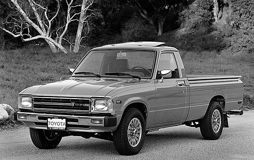 Tundra Toyota 1983-toyota-truck | Toyota's major redesign of the Toyota ...