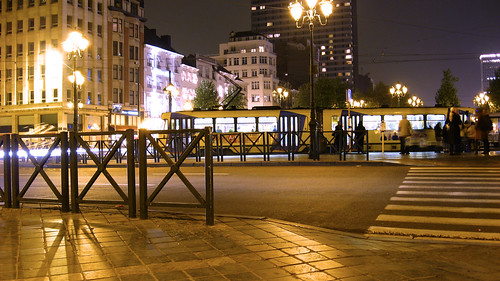 Tram at Louise, Brussels | by R/DV/RS