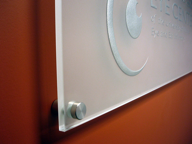 Etched Glass Signs Your Logo Etched On A Glass Panel