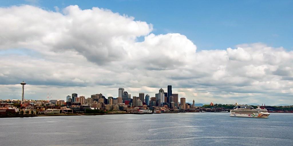 Seattle Launch Holland America Cruise To Alaska Scott