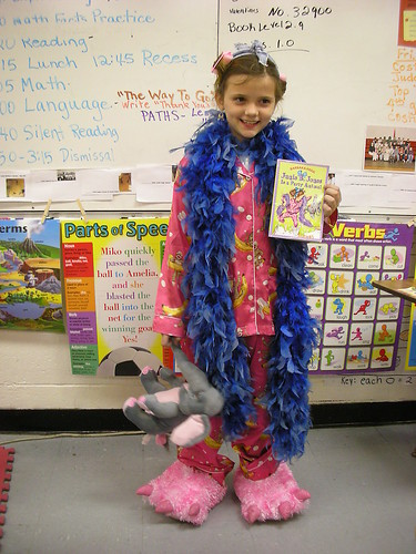 Junie B Jones Party Animal Students At BES Dressed As