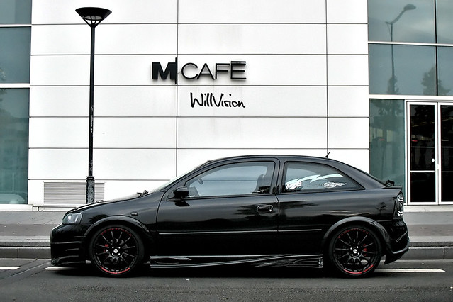 black opel vauxhall astra g tuning by willvision flickr. Black Bedroom Furniture Sets. Home Design Ideas