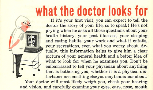 What the doctor looks for | by wardomatic