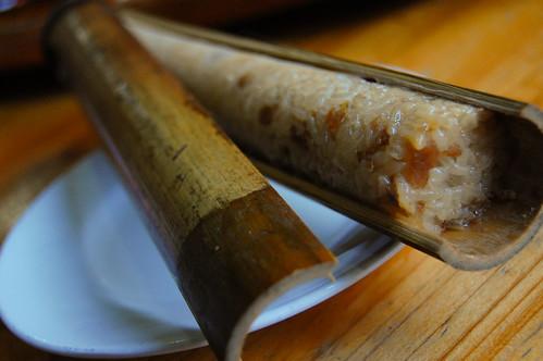 Bamboo Rice 竹筒飯