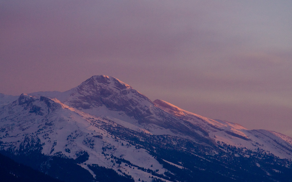 Evening Mountain Wallpaper Full Size 1440 X 900 Leave Me Flickr