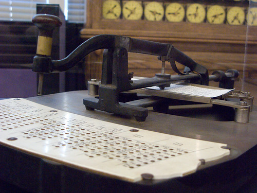Pantograph Hole Punch | by bradmohr