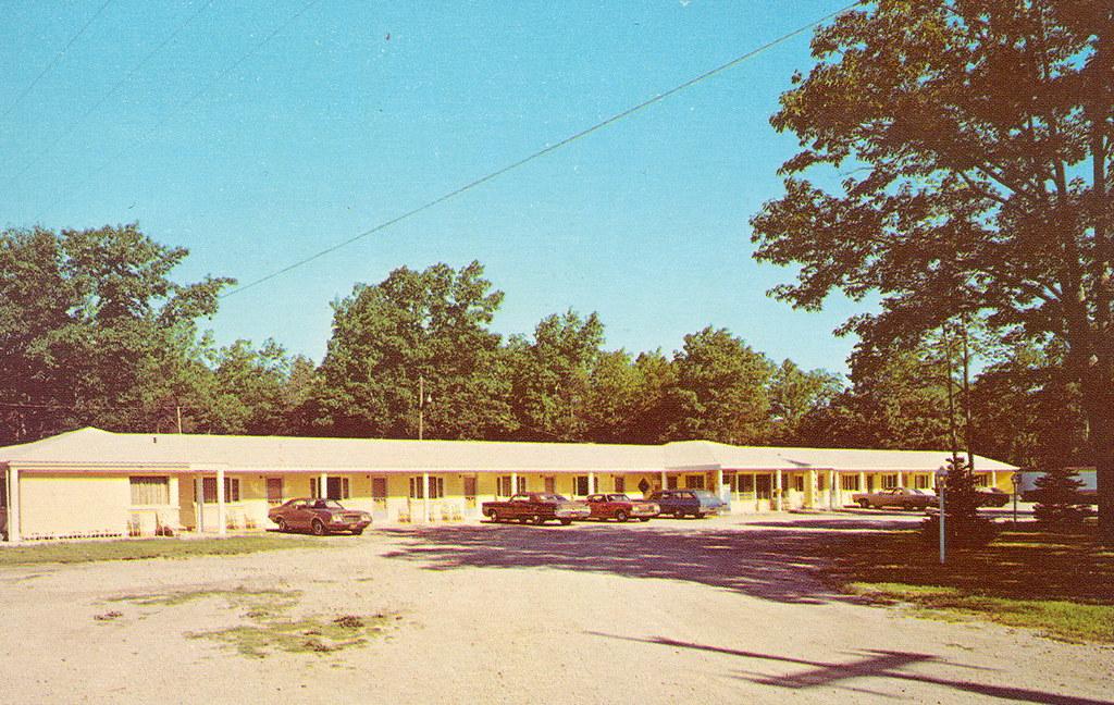 Cheboyban Indian River Mi Roadside Star Gate Motel Near Th
