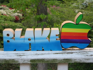 my wooden name thingie from 1984 (daylight) | by blakespot