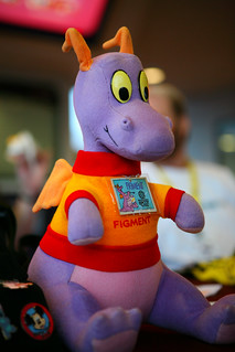 An original 1982 Figment plush | by Jeff_B.