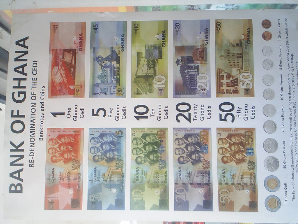 new ghana currency in cidis its ghana currency they have c flickr