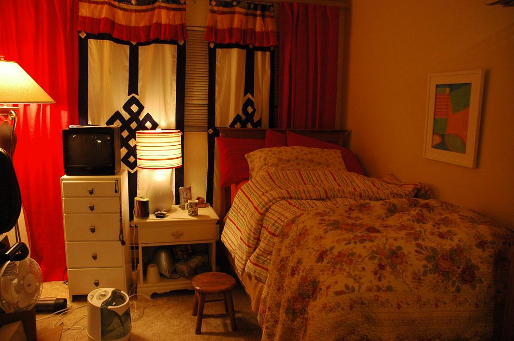 My Bedroom Just How It Is Little Twin Bed Tibetan Door C
