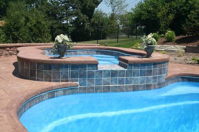 Composite Pools Lexington Pool Amp Alexandria Spa In Gro