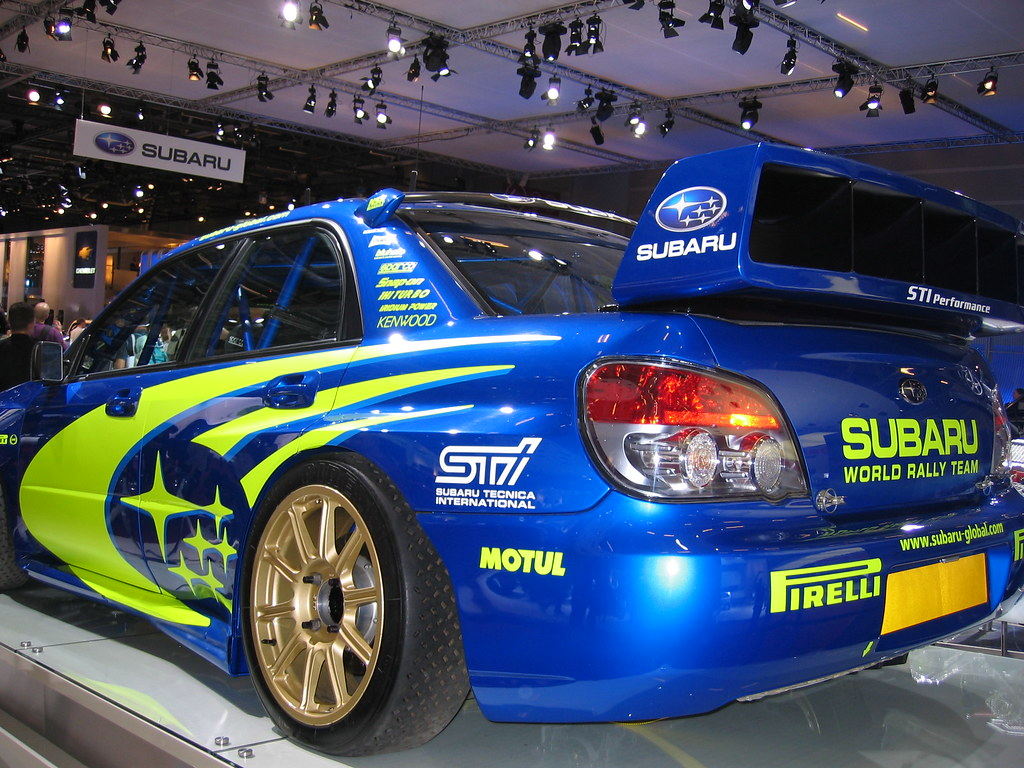 Subaru WRX STI rally car | Subaru WRX STI rally car at the 2… | Flickr