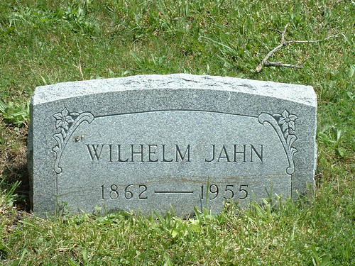 Wilhelm Jahn | by Barrington Area Library Local History
